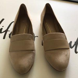 Aldo Beige Sure Loafer Shoes Size 9.5